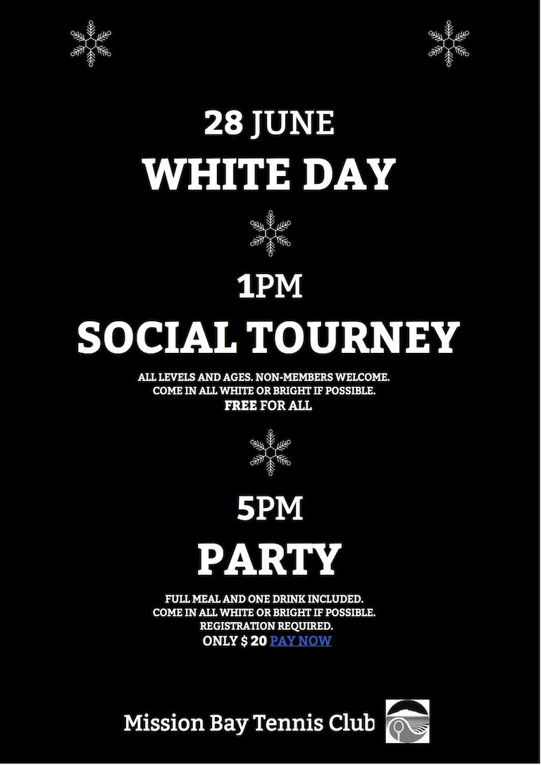 White Day, Social Tourney and Party